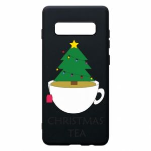 Samsung S10+ Case Christmas tea