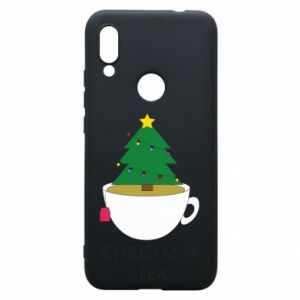 Xiaomi Redmi 7 Case Christmas tea