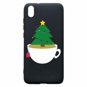 Xiaomi Redmi 7A Case Christmas tea