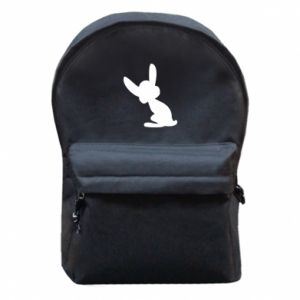 Backpack with front pocket Shadow of a Bunny
