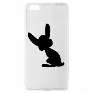Huawei P8 Lite Case Shadow of a Bunny