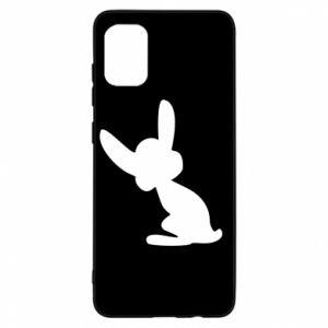 Samsung A31 Case Shadow of a Bunny