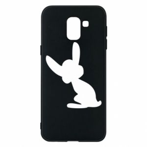 Phone case for Samsung J6 Shadow of a Bunny