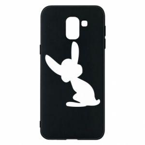 Samsung J6 Case Shadow of a Bunny