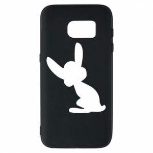 Samsung S7 Case Shadow of a Bunny