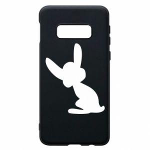 Samsung S10e Case Shadow of a Bunny
