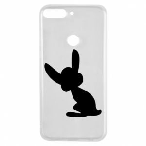 Phone case for Huawei Y7 Prime 2018 Shadow of a Bunny