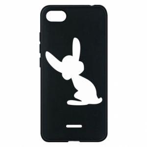 Xiaomi Redmi 6A Case Shadow of a Bunny