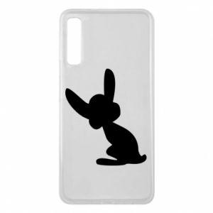 Samsung A7 2018 Case Shadow of a Bunny