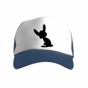 Kid's Trucker Hat Shadow of a Bunny
