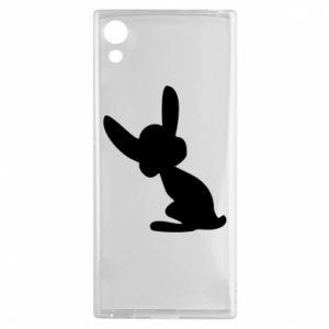 Sony Xperia XA1 Case Shadow of a Bunny
