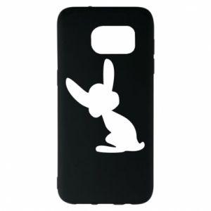 Samsung S7 EDGE Case Shadow of a Bunny
