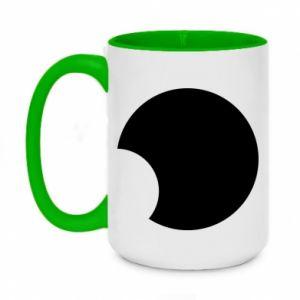 Two-toned mug 450ml Circle