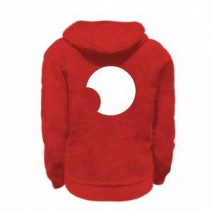 Kid's zipped hoodie % print% Circle