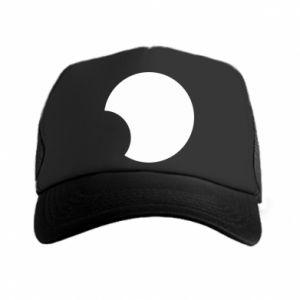 Trucker hat Circle