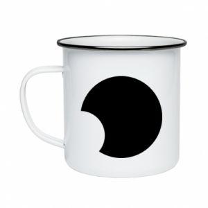 Enameled mug Circle