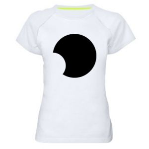 Women's sports t-shirt Circle