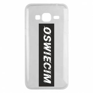 Phone case for Samsung J3 2016 City Oswiecim