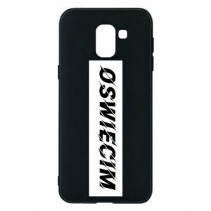 Phone case for Samsung J6 City Oswiecim
