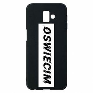 Phone case for Samsung J6 Plus 2018 City Oswiecim