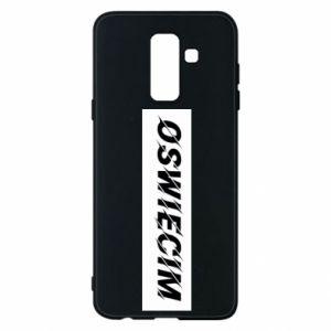 Phone case for Samsung A6+ 2018 City Oswiecim