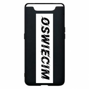 Phone case for Samsung A80 City Oswiecim