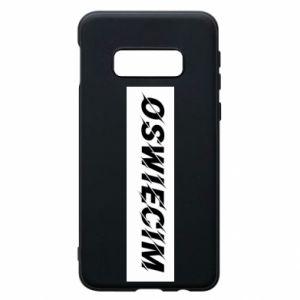 Phone case for Samsung S10e City Oswiecim