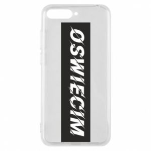 Phone case for Huawei Y6 2018 City Oswiecim