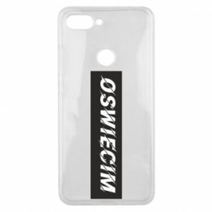 Phone case for Xiaomi Mi8 Lite City Oswiecim