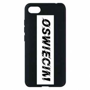 Phone case for Xiaomi Redmi 6A City Oswiecim