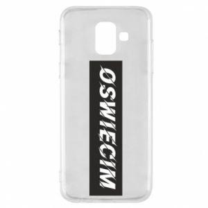 Phone case for Samsung A6 2018 City Oswiecim