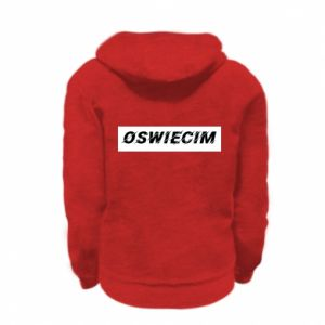 Kid's zipped hoodie % print% City Oswiecim