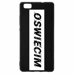 Huawei P8 Lite Case City Oswiecim