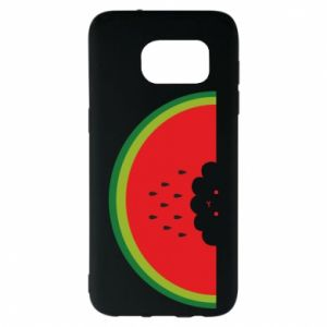 Etui na Samsung S7 EDGE Cloud of watermelon
