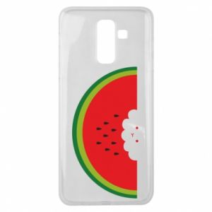 Etui na Samsung J8 2018 Cloud of watermelon