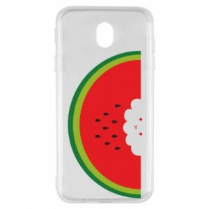 Etui na Samsung J7 2017 Cloud of watermelon