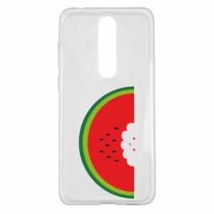 Etui na Nokia 5.1 Plus Cloud of watermelon