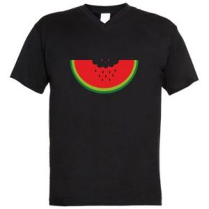 Męska koszulka V-neck Cloud of watermelon