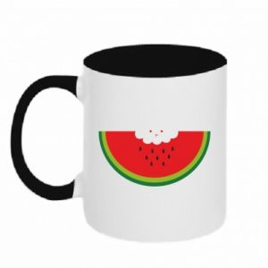 Two-toned mug Cloud of watermelon