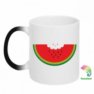 Chameleon mugs Cloud of watermelon