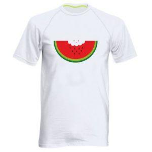 Męska koszulka sportowa Cloud of watermelon