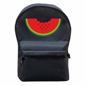 Backpack with front pocket Cloud of watermelon