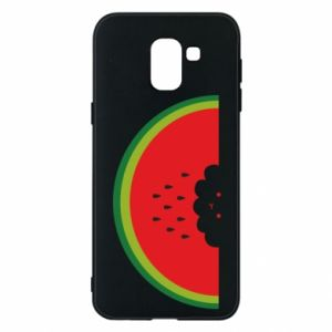 Etui na Samsung J6 Cloud of watermelon