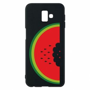 Etui na Samsung J6 Plus 2018 Cloud of watermelon