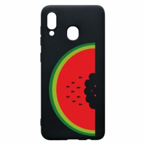 Etui na Samsung A30 Cloud of watermelon