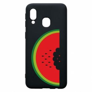 Etui na Samsung A40 Cloud of watermelon