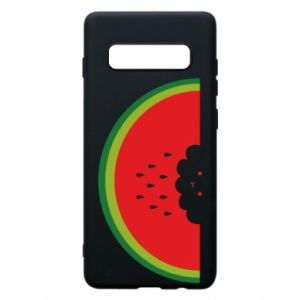 Etui na Samsung S10+ Cloud of watermelon