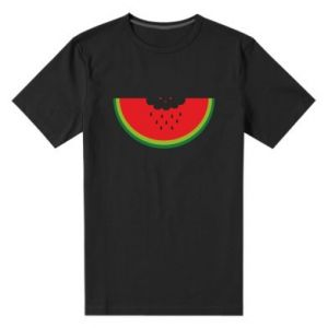 Męska premium koszulka Cloud of watermelon