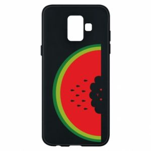 Etui na Samsung A6 2018 Cloud of watermelon