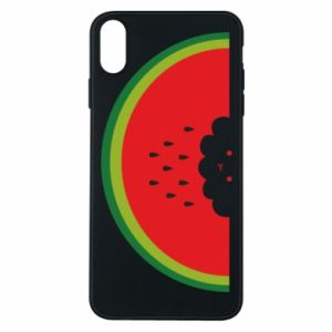 Etui na iPhone Xs Max Cloud of watermelon
